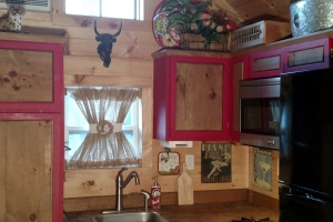 Hummingbird Tiny Houses Sage 12 in wide Eastern White Pine Ceilings (Custom)