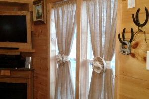 Sage custom made curtains (Custom)